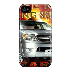 For Iphone 4/4s Tpu Phone Case Cover(chinese New Year 2008)