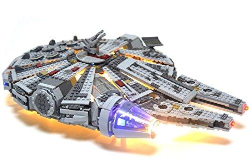 Kit di illuminazione a led per lego star wars millennium falcon