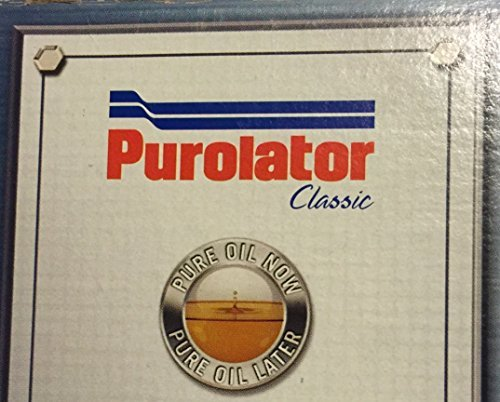 Purolator Classic L24011 Oil Filter, Pack of 1; Made in USA