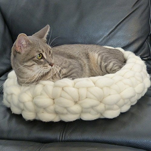 Basura para dormir animales. Cama para gato o perro pequeño LAINE XL.Literie.