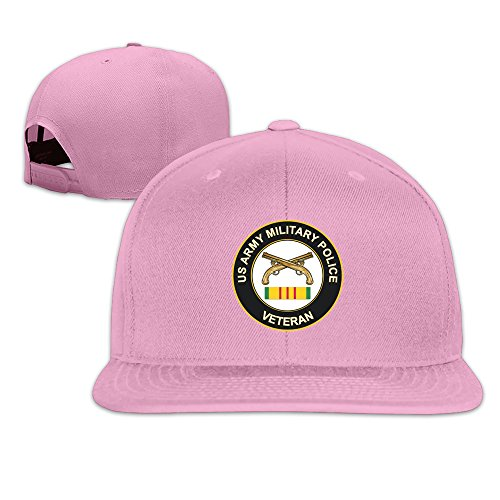 Mos Bacon (Pink Army Military Police Adjustable Sports Hat)