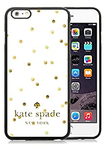 Personalized Popular Design iPhone 6plus Case Kate Spade New York Phone Case For iPhone 6plus 5.5 Inch TPU Cover Case 53 Black
