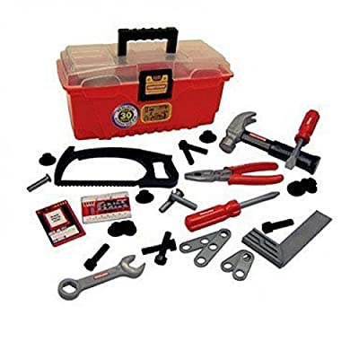 Craftsman My First Tool Box Plastic Ages 3 And Up 31 Pieces