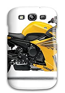 DPatrick Perfect Tpu Case For Galaxy S3/ Anti-scratch Protector Case (yamaha Fz6r Yellow)