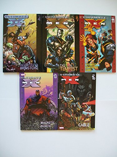 Ultimate X-Men (5 Set) Hellfire Brimstone; Tempest; Most Dangerous Game; Magnetic North; Cable (X-men Cable Ultimate)