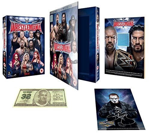 WWE: WrestleMania 32 - Ultimate Collector's Edition [DVD] by