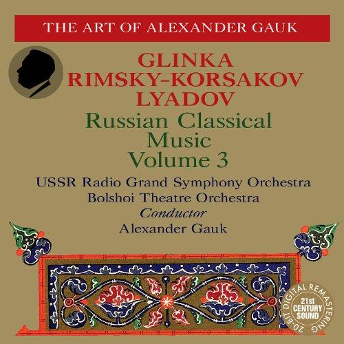 (Glinka: Jota Aragonesa, Summer Night in Madrid - Rimsky-Korsakaov: Snow Maiden - Lyadov: Eight Russian Folksongs)