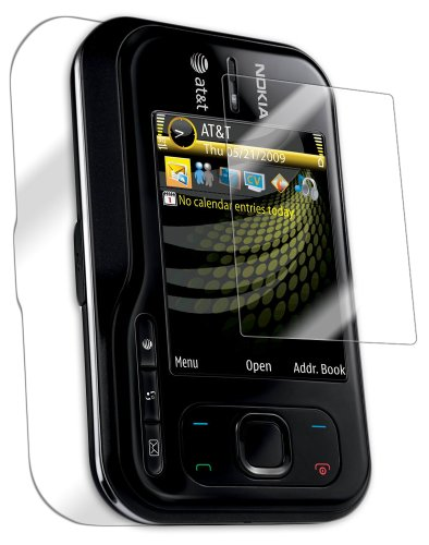 IQ Shield LiQuidSkin Full Body Skin + Full Coverage Screen Protector for Nokia 6790 Surge HD Clear Anti-Bubble Film