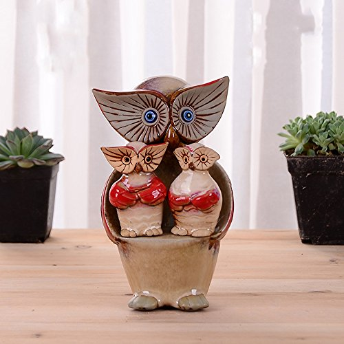 zakka-3-set-of-owl-home-decoration-furnishing-giftred