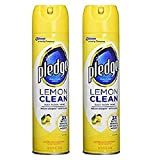 2-Pack Pledge Lemon Clean Furniture Spray
