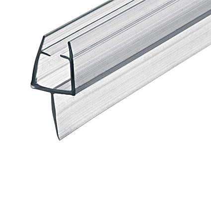Gedotec Sello de Puerta Cristal 100cm Duschtür-dichtung DD-03 para ...
