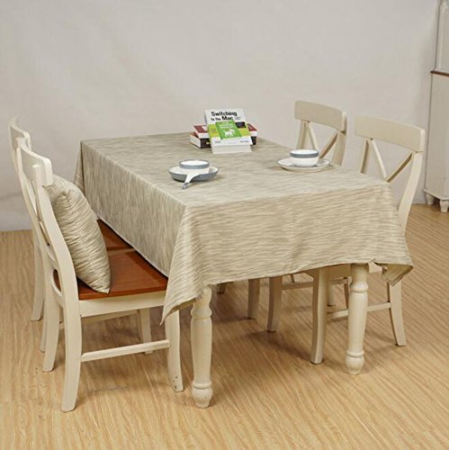 A1 140200cm nappe de table Accueil Nappe Imperméable Tissu Table Simple Tissu Café Tapis de table (Couleur   A1, taille   140  200cm)
