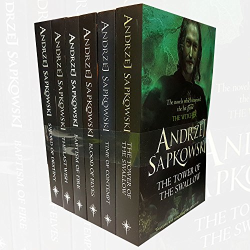 Witcher Series Andrzej Sapkowski 7 Books Collection Set Inc Sword Of Destiny