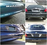 BDTrims | Bumper Letters for Mercury Marauder 2000-2004 Rear Plastic Inserts (Chrome)
