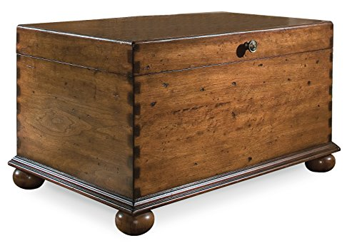 Harris & Terry AMZ2252462 Jana Lift Lid Cocktail Trunk, Medium Wood