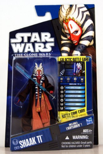 Star Wars 2010 Clone Wars Animated Action Figure CW No. 31 Shaak Ti