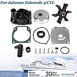Neeknn Water Pump Impeller Kit 438597 432955 for Johnson Evinrude 60 65 70 75HP 18-3389
