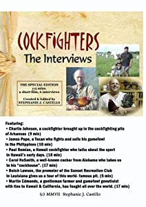 Amazon com: Cockfighters: The Interviews - 2 hr version: Charlie