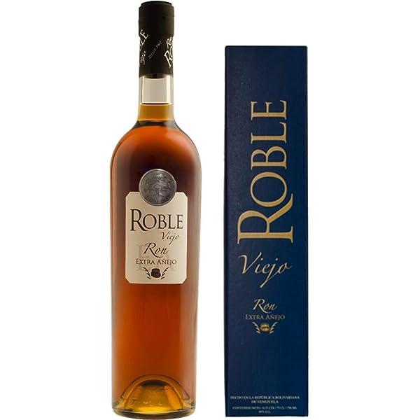 Roble Viejo   Ron Extra Añejo Venezolano - Botella de 70 cl ...