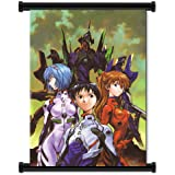 """Neon Genesis Evangelion Anime Fabric Wall Scroll Poster (32""""x42"""") Inches"""