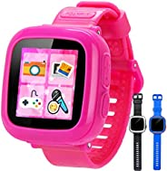 Game Kids Smart Watch with Camera for Children Girls Boys Toy Wrist Watch Touch Screen Timer Alarm Clock Pedom
