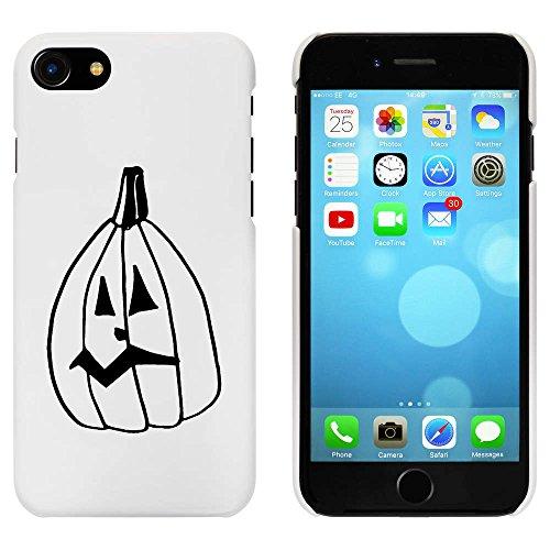 Blanc 'Halloween Citrouille' étui / housse pour iPhone 7 (MC00088779)