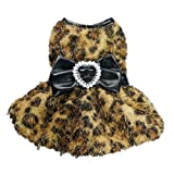 Luxury Elegant Dog Dress for Dog Cocktail Dog Coat Soft Warm Dog Clothes Pet Dress Free Shipping,Floral Print,S, My Pet Supplies