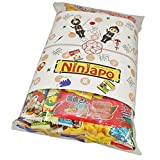 "Assorted Japanese Junk Food Snacks ""Dagashi"" 45pcs Ninjapo Package Sweets Candy"