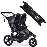 BOB Revolution PRO Duallie Stroller Black With Handlebar Console Bundle