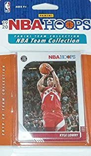 Toronto Raptors 2019 2020 Hoops Basketball Factory Sealed 7 Card Team Set with Kyle Lowry, Pascal Siakam and F