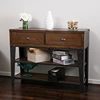 Border Dark Oak Ash Veener Console Table