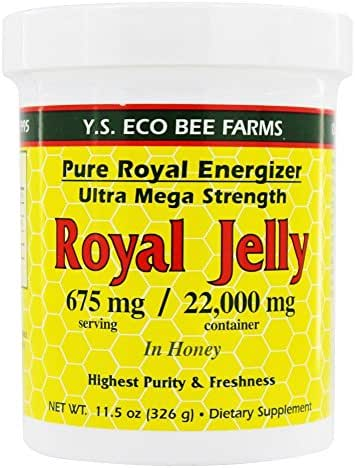Ys Bee Farms, Royal Jelly Ultra/mega 22000mg, 11.5 Ounce