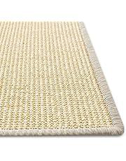 Floori® Sisal krabtapijt, natuurlijke vezel: duurzaam en milieuvriendelijk, krabmat voor het onderhoud van je kat, ivoor, 50 x 50 cm