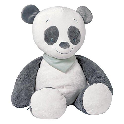Grande peluche Loulou le panda, Léa Loulou et Hippolyte - Nattou