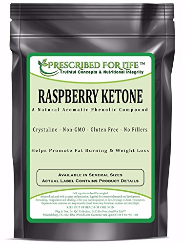 Raspberry Ketone - Pure Synthesized Crystalline Powder, 2.5 lb by Prescribed For Life