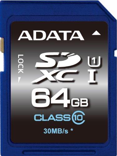 ADATA SDXC 64GB 64GB SDXC UHS Classe 10 memoria flash 5-6gg Lavorativi (da Ordinare)