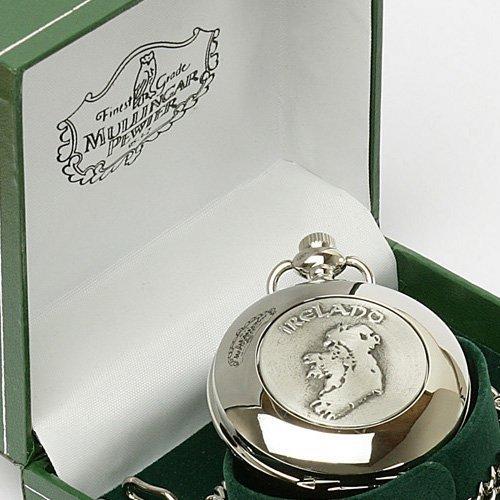 Irish Celtic Ireland Pocket Watch by Mullingar Pewter