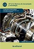 img - for T cnicas de mecanizado y metrolog a (Spanish Edition) book / textbook / text book