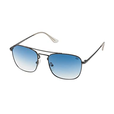 914edd4a04b Gio Collection UV Protected Oversized Men s Sunglasses - (55 I Blue Lens)   Amazon.in  Clothing   Accessories