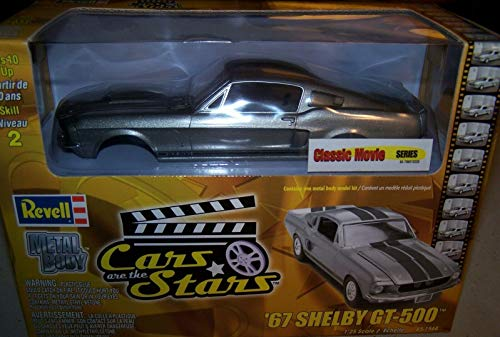 (Revell Cars are The Stars Classic Movie Series 1967 Shelby GT-500 1/25 Metal Body Model Kit )