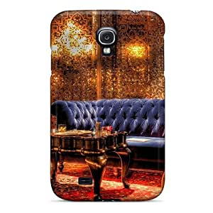 Fashion MPAOLiP5774RgcxL Case Cover For Galaxy S4(velvet Couch In A Beautiful Sitting Room Hdr)