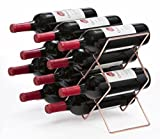 Mango Steam 10 Bottle Wine Rack (Rose Gold) For Sale