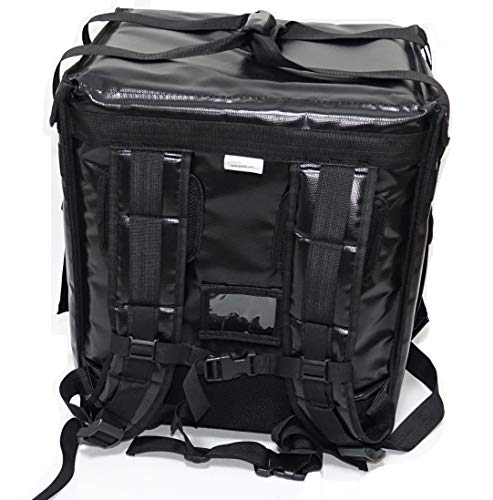 - PK-65Abl: Insulated Pizza Delivery Backpack Bag, Top Load + Side Load. 16