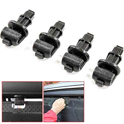 - Ponis-Limos - 4pcs Car Window Clips Hook For Honda Odyssey 2005-2010 For Sun Shade Curtain Cloth Cards Car-styling Accessories 83715SHJ-A21ZA