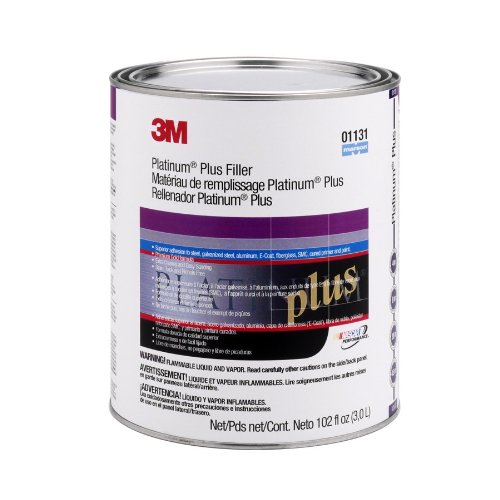 3M 01131 Platinum Plus Filler - 102 oz
