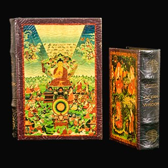 Life of the Buddha Art Book Box Set Jewelry Keepsake Secret Box