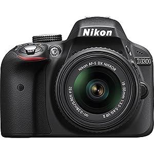 Nikon D3300 24.2 MP CMOS Digital SLR with AF-S DX NIKKOR 18-55mm f/3.5-5.6G VR II Zoom Lens (Black) (Certified Refurbisehd)