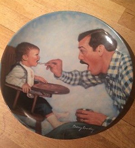 Norman Rockwell Family Scenes Father's Love Collection