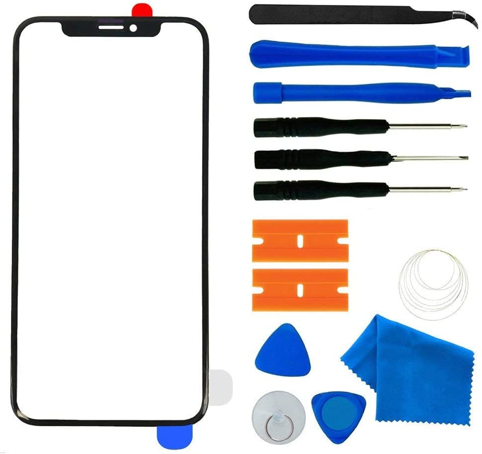 Amazon Com Original Front Outer Lens Glass Screen Replacement Repair Kit For Apple Iphone 11 Series