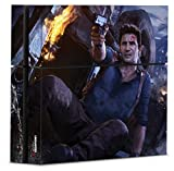 Uncharted 4: A Thief's End Officially Licensed PS4Console Skin Firefight - PlayStation 4 by Controller Gear
